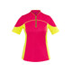 Gonso Jave Koszulka kolarska, krótki rękaw Kobiety różowy